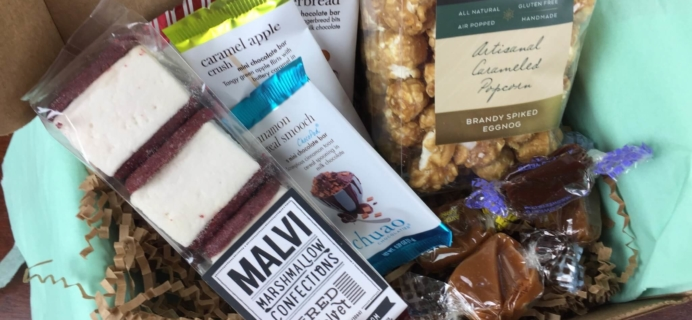 Treatsie December 2015 Subscription Box Review + Coupons