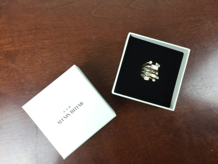zoe report box of style winter 2015 alexis bittar ring