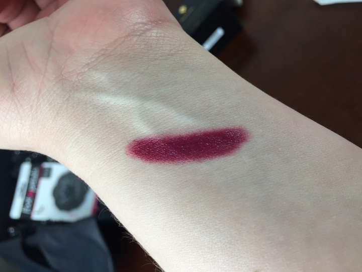 zoe report box of style winter 2015 honest mulberry swatch
