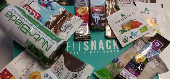 FitSnack January 2016 Subscription Box Review + 50% Off Coupon