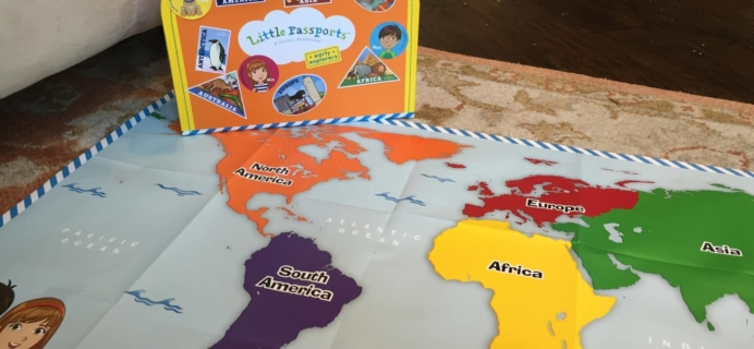 Little Passports Early Explorers Traveler Welcome Kit Review
