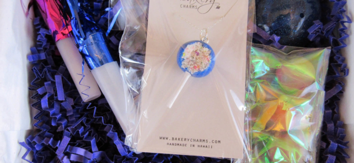Sweet Surprises by Bakery Charms Subscription Box Review – January 2016