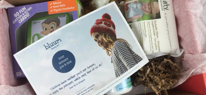 January 2016 Bluum Subscription Box Review & Coupon
