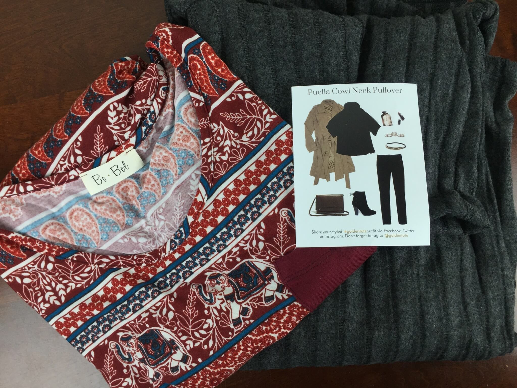 Golden Tote January 2016 $49 Tote Review