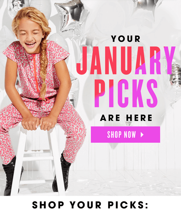 FabKids January 2016 Collection & Selection Time – First Outfit $9.95! + New Active Shop for Girls!