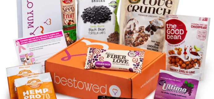 Bestowed Coupon – First Box 50% Off or Free with 3+ Month Subscription!