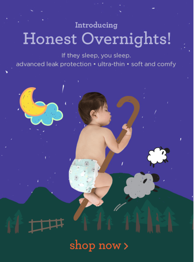 New Honest Company Overnight Diapers + Honest Beauty Eye Cream + Coupons