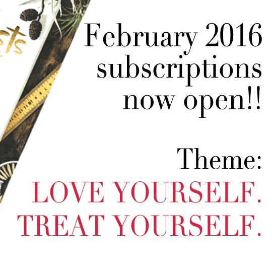 Covet Crate February 2016 Boxes Now Available + Theme Spoilers & Coupon