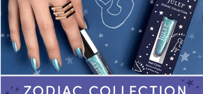 New Zodiac Collection from Julep + Coupons!