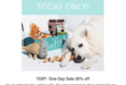 Today Only PawPack Deal 25% Off 6+ Month Subscriptions!