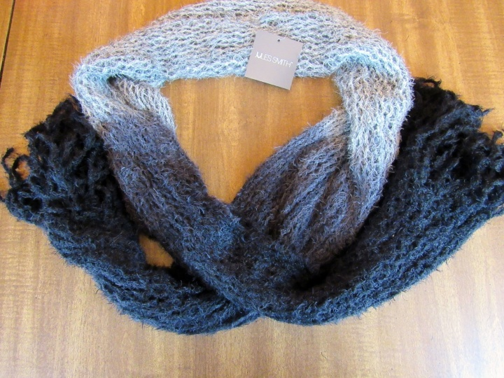 The Jules Smith Crochet Tube Scarf