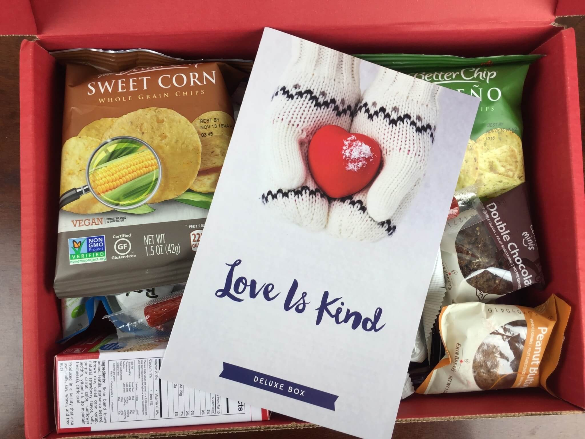 Love With Food January 2016 Deluxe Box Review + Coupon