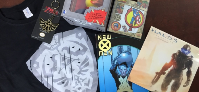 My Geek Box Subscription Box Review – January 2016