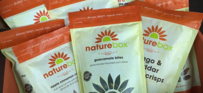 NatureBox February 2016 Subscription Box Review & 50% Off Coupon