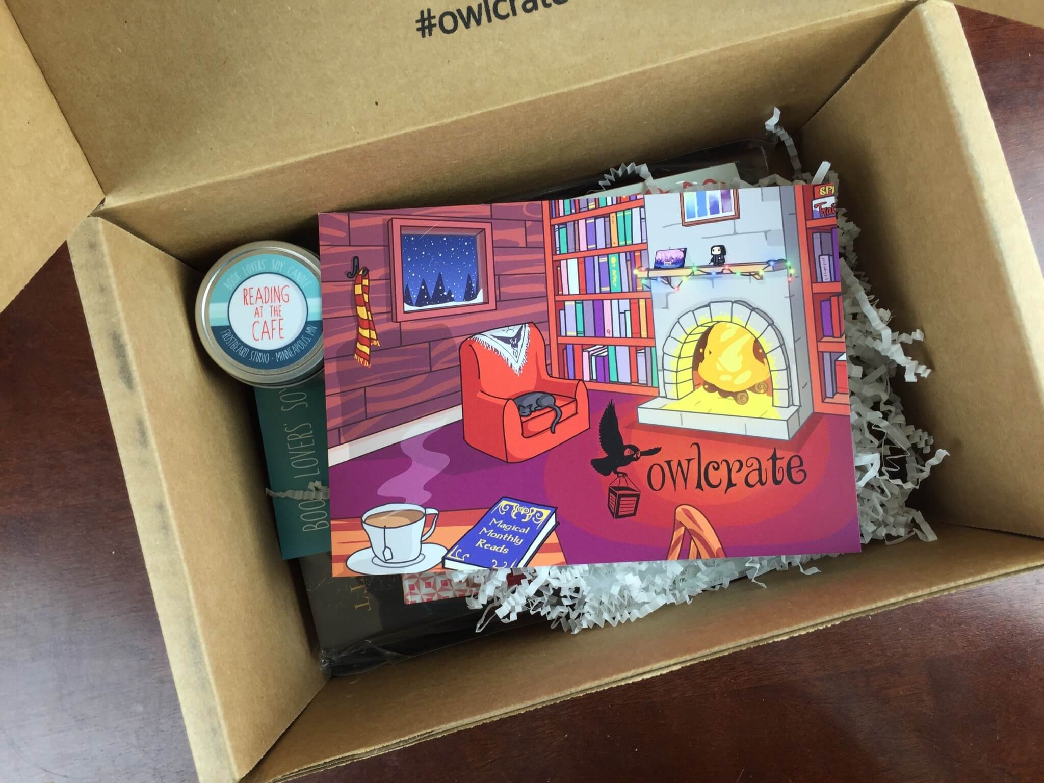 December 2015 OwlCrate Subscription Box Review & Coupon