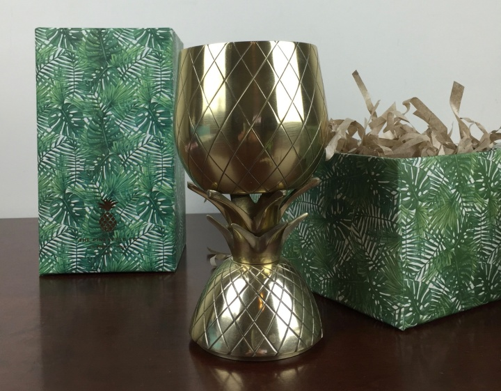 pineapple co tumblers goblet