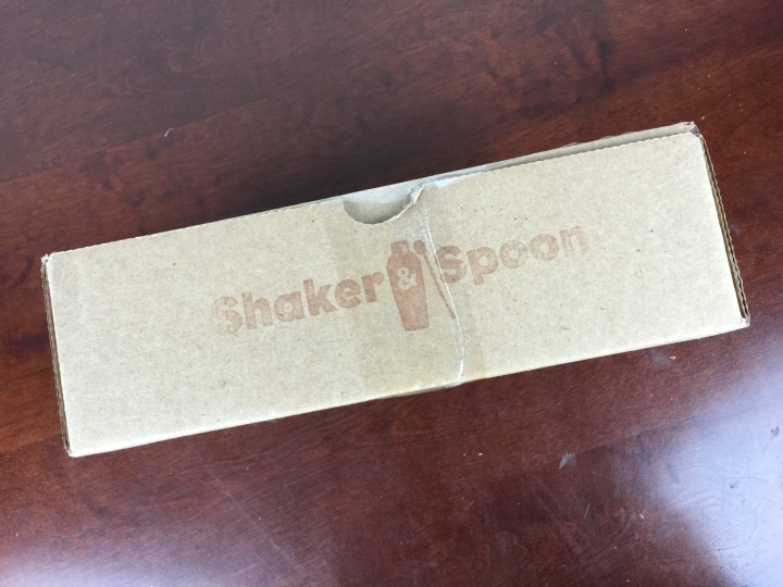 shaker spoon january 2016 box