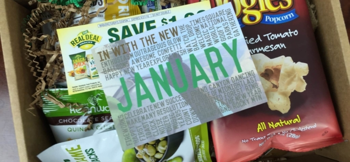 Snack Sack Subscription Box Review & Coupon – January 2016