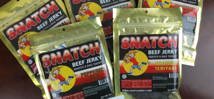 Snatch Beef Jerky Subscription Box Review