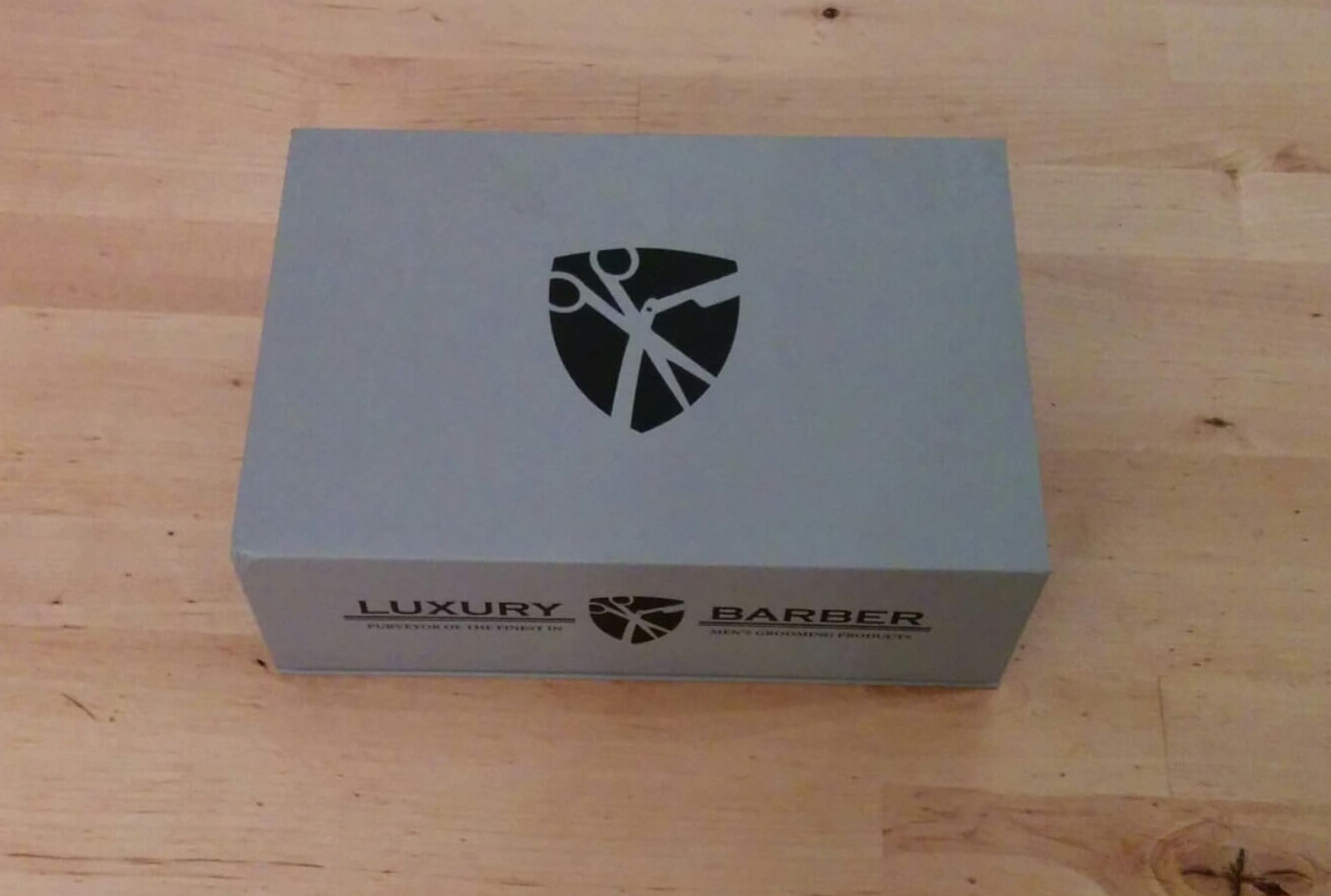 Luxury Barber Box Club Review, December 2015 Edition
