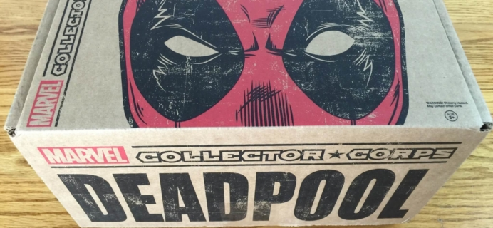 Marvel Collector Corps Subscription Box Review – February 2016