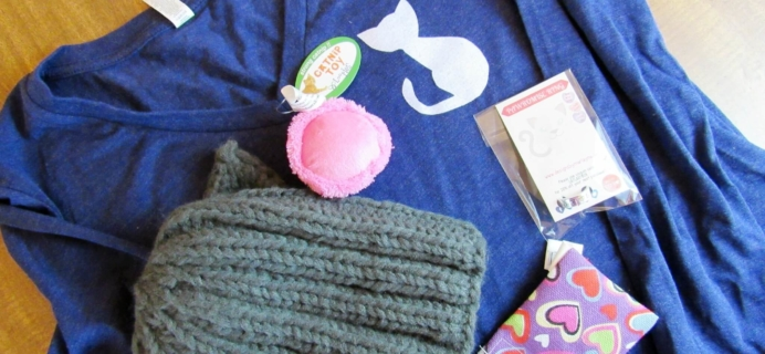 Cat Lady Box Subscription Box Review & Coupon – January 2016