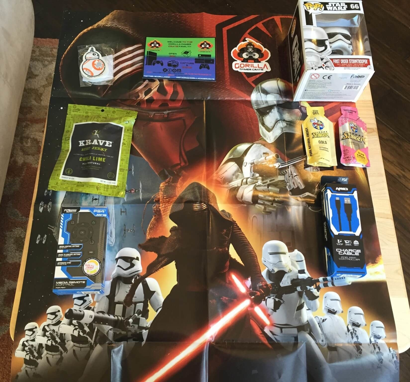 Gorilla Gamer Crate February 2016 Subscription Box Review