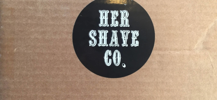 Her Shave Co. Subscription Box Review & Coupon – Intro Box
