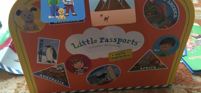 Little Passports Early Explorers Landmarks Kit Review – Month 2