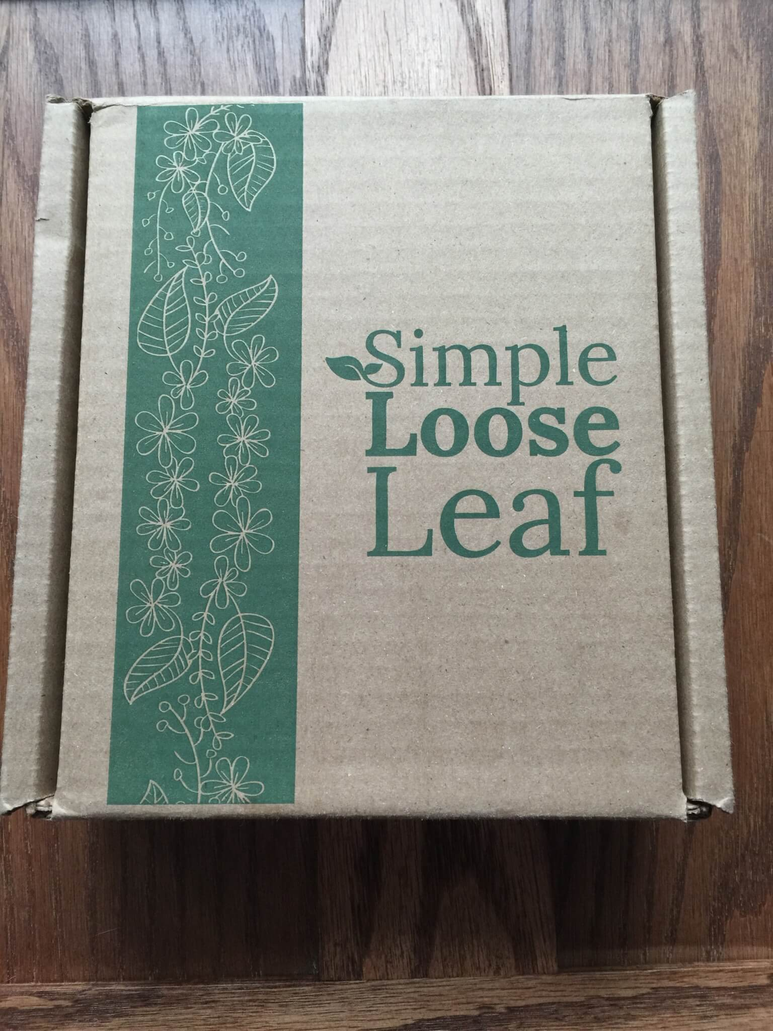 Simple Loose Leaf Tea March 2016 Subscription Box Review + Coupon – First box $3.99
