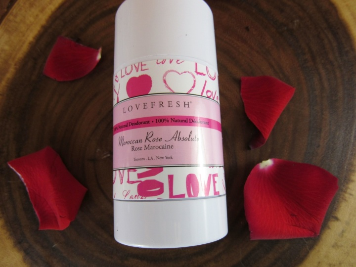 Lovefresh Moroccan Rose Absolute Deodorant