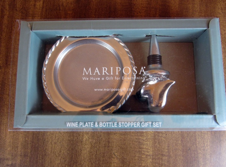 Mariposa Heart and Swizzle Wine Set