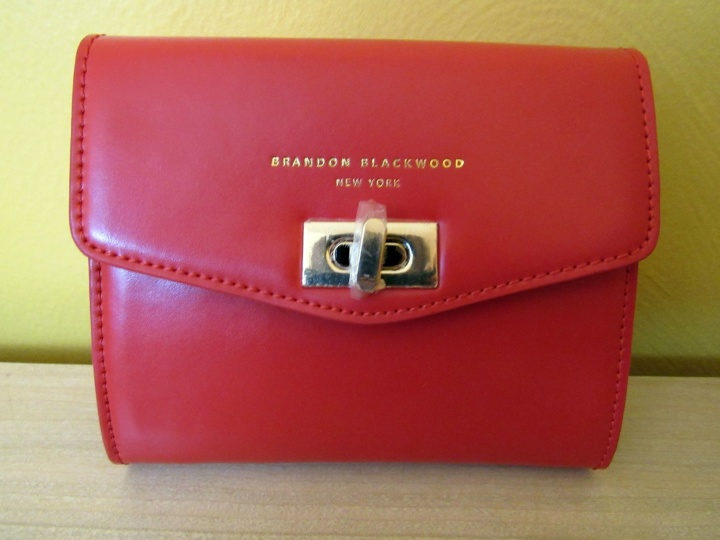 Brandon Blackwood Small Red Crossbody/Clutch