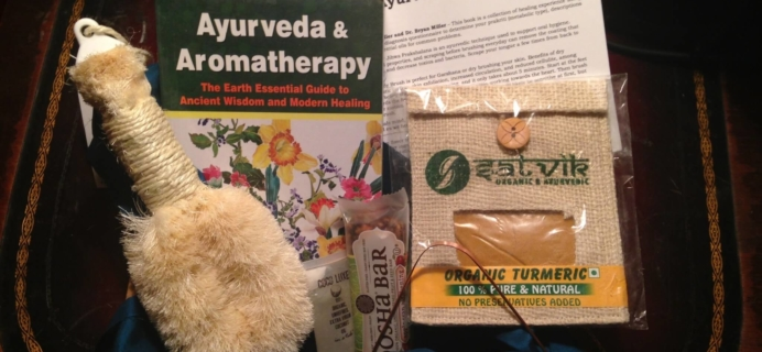 Ashi Box January 2016 Subscription Box Review – Ayurveda Box