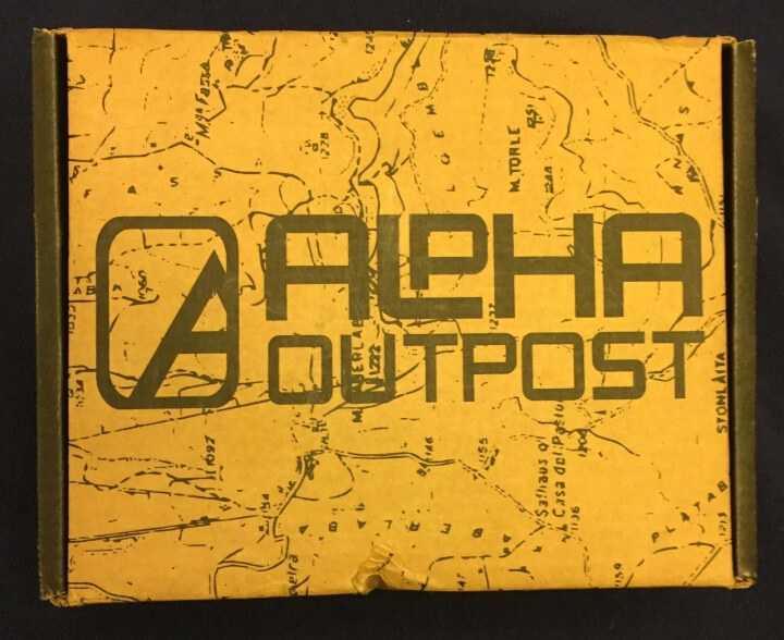 Alpha Outpost Subscription Box Review – January 2016