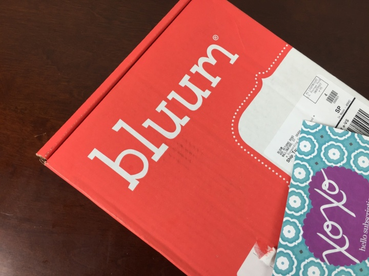 bluum february 2016 box