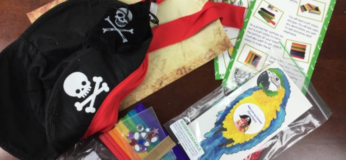 Bramble Box February 2016 Subscription Box Review + Coupon – Pirates
