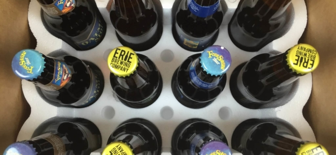 February 2016 Craft Beer Club Review