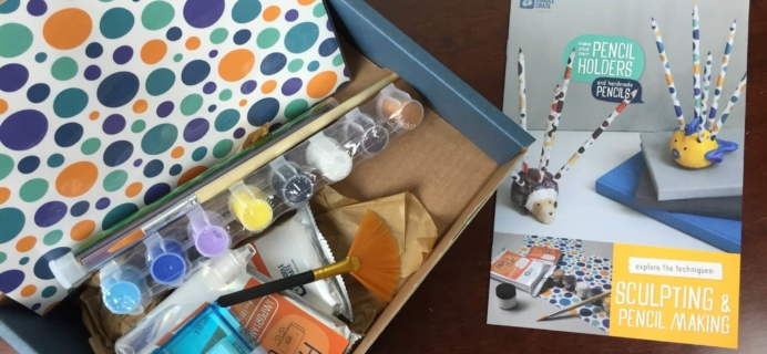 Doodle Crate Subscription Box Review & Coupon – February 2016 Pencil Holders