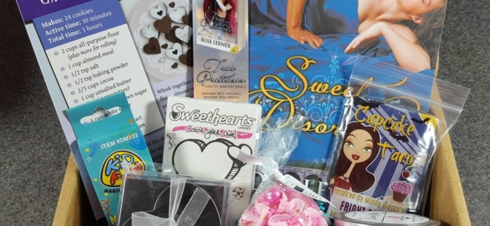 Ever After February 2016 Sweet Tooth Box Review