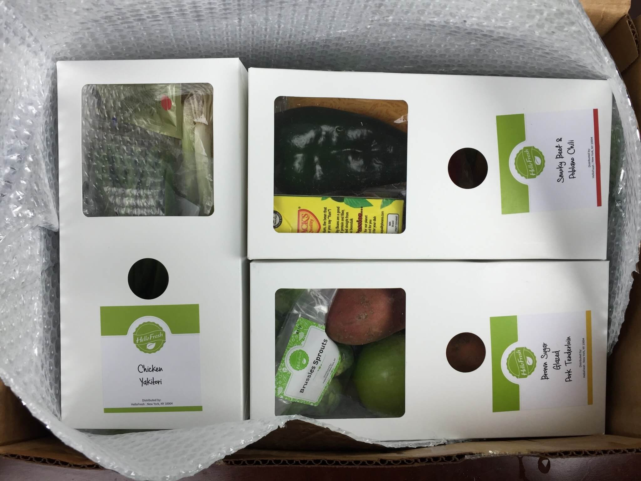 hellofresh february 2016 review and coupon hello subscription. Black Bedroom Furniture Sets. Home Design Ideas
