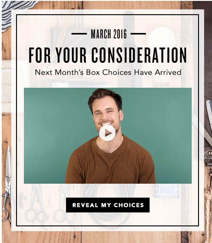 March 2016 Birchbox Man Spoilers & Coupon – Sample Choice, Power Play Items