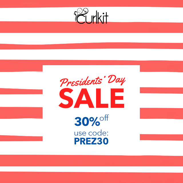 CurlKit Presidents' Day Sale – 30% Off Coupon