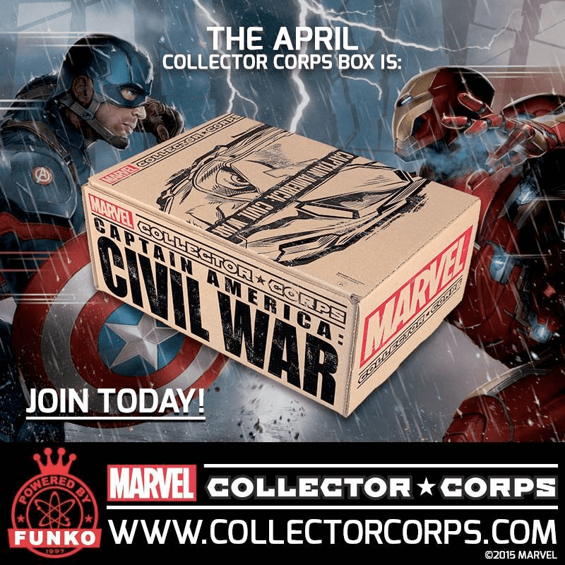 Marvel Collector Corps April 2016 Full Spoilers!