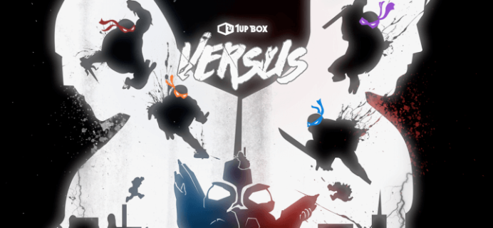 March 2016 1Up Box Spoilers: VERSUS + Coupon Code