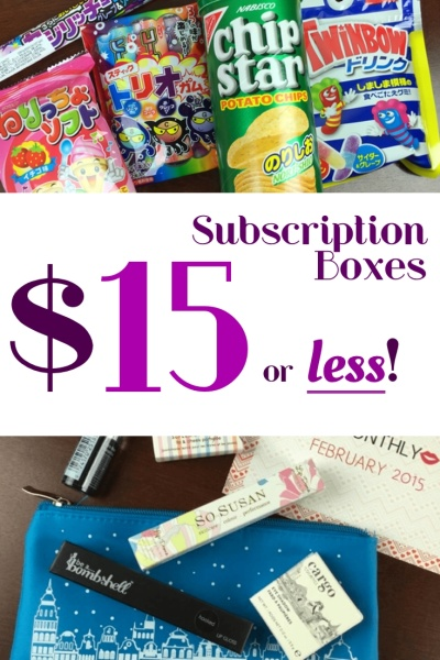 20 Subscription Boxes 15 And Under Every Month Hello Subscription