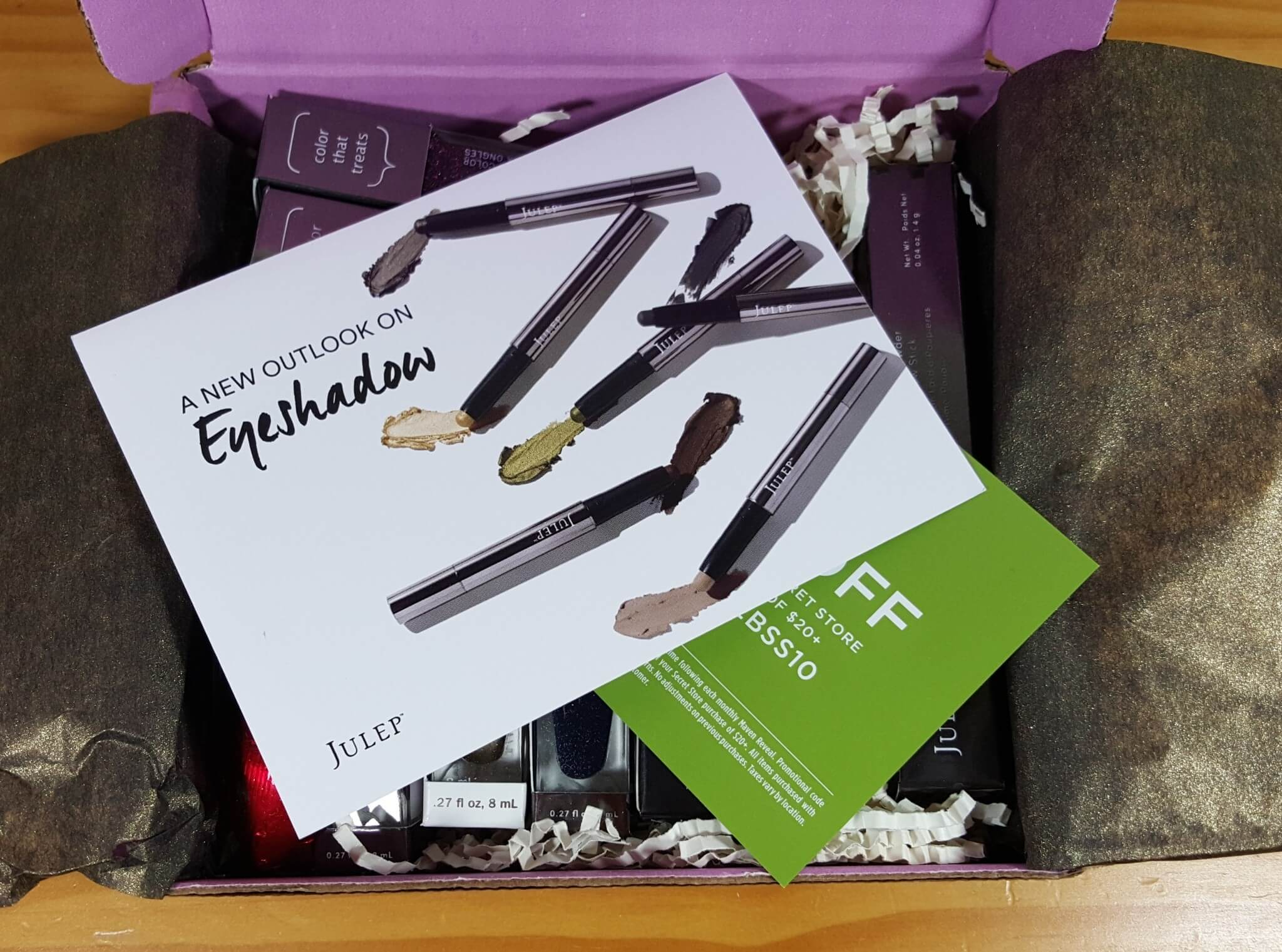 Julep Maven February 2016 Subscription Box Review + Free Box Deal