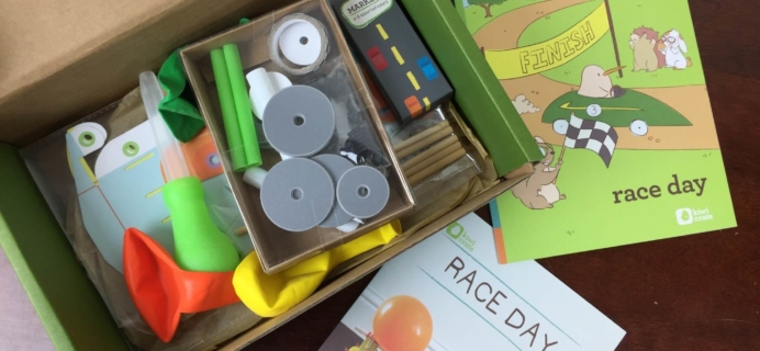 February 2016 Kiwi Crate Review & Coupon – Race Day