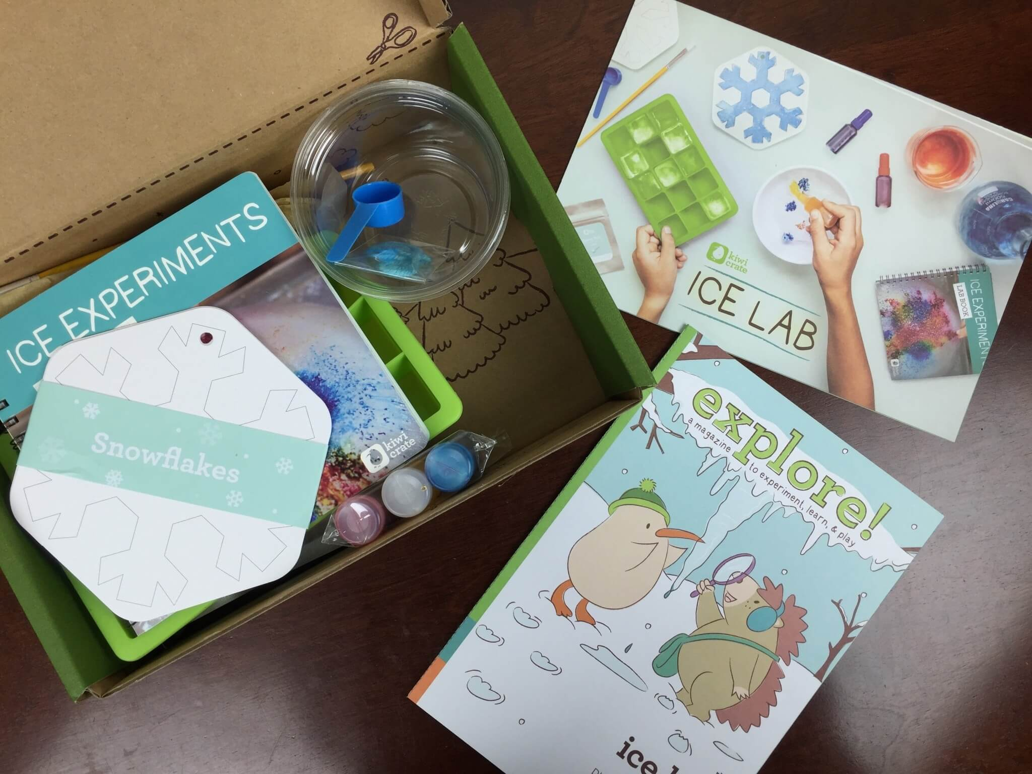 Kiwi Crate Review & Coupon – January 2016 Ice Lab