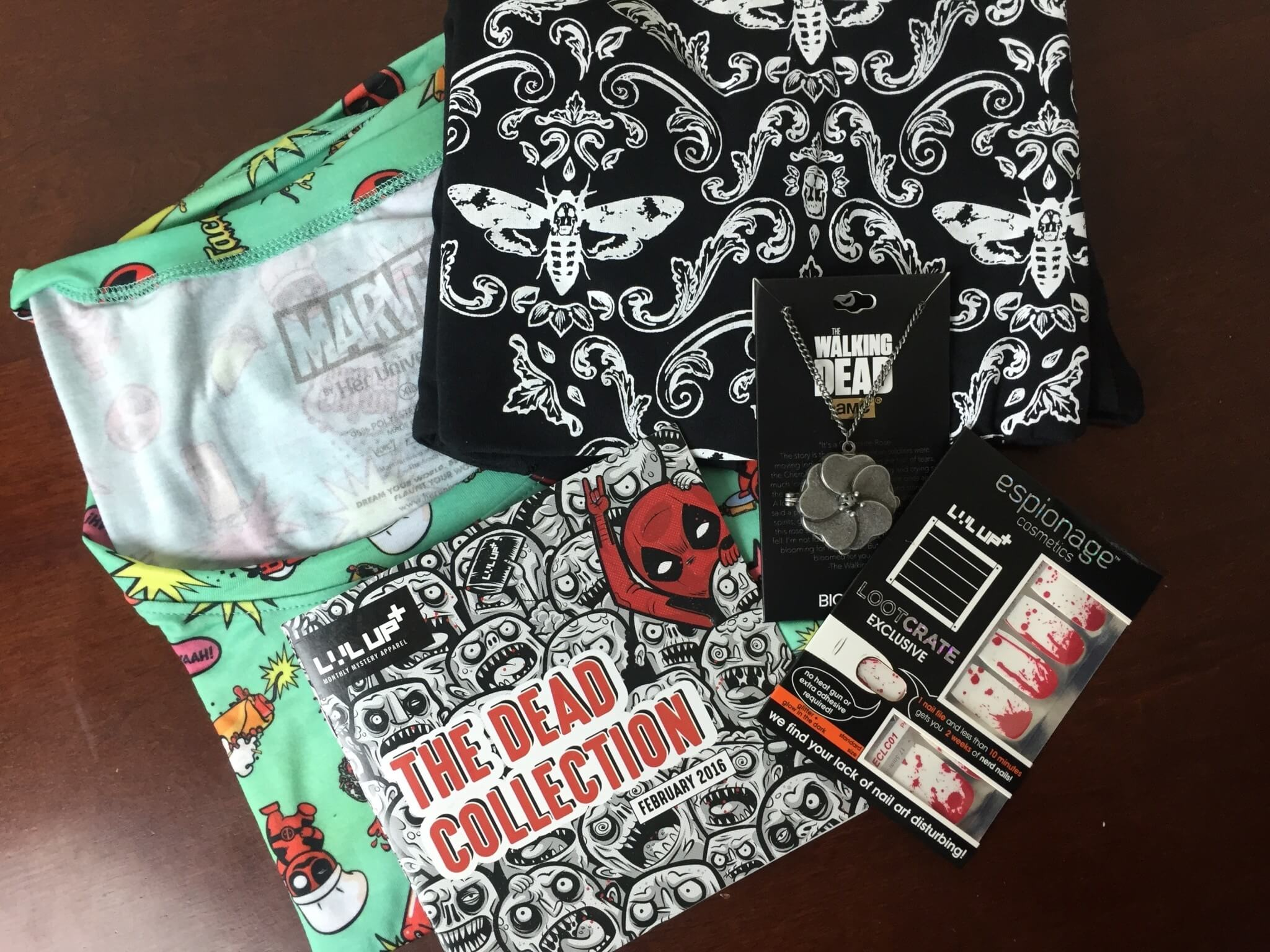 Level Up by Loot Crate T-Shirt, Women's Wearable & Accessories Reviews & Coupon – February 2016 DEAD Collection